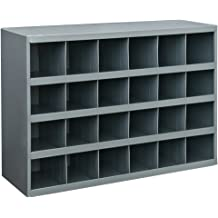 16 Compartment by Durham Durham 209-95-IND Gray Cold Rolled Steel Individual Small Scoop Box 13-3//8 Width x 2 Height x 9-1//4 Depth
