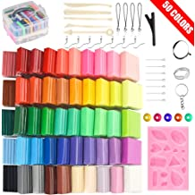 Reusable and Non-Drying Non-Harding for Easier 3D Projects for Arts and Crafts Modeling Clay Sticks//Bars 12 Colors 2