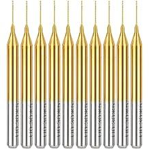 WXQ-XQ Drill 10pcs 0.5mm Mini PCB Drill Bits For CNC Print Circuit Board Tungsten Steel Drill Accessories