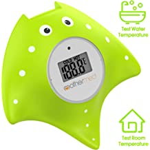 Starfish The Infant Baby Bath Floating Toy Safety Temperature Thermometer. DongRong Baby Bath and Room Thermometer