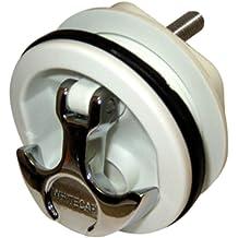 Whitecap 60474 Canted Teak Winch Pad 15/° Angle Whitecap Industries 5-5//8 Top Diameter