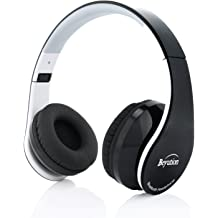 fa1f521cc70 Beyution Over Ear Wireless Cellphone Headset, Bluetooth Version 4.1 Stereo  HiFi Sound Quality Wired Headphones with 3.5mm Audio Cable .