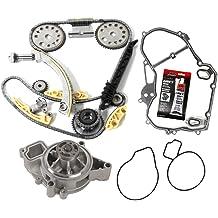 Timing Chain Kit w//Updated Latest Style Tensioner Balance Shaft Set 148 LINKS New TK5090BSKWP Water Pump SetDOHC Ecotec EngineZ22SE L61 L42 LSJ LNF