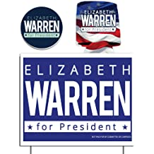 Yard Sign is Printed 2 Sided on 11 Inch by 14 Inch Waterproof Corrugated Plastic and Includes Stakes VictoryStore Yard Signs Donald Trump 2020 Yard Sign Trump 2020 Can Cooler and Trump 2020 Decal