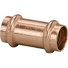 VIEGA 39029 Proradiant Geofusion Hdpe Socket Fusion Coupling with 1-1//2 x 1-1//4 IPS x IPS Viega PEX 10-Pack