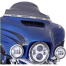 Protek ABS Plastic Injection Black Smoke Double Bubble Transparent Windscreen Windshield Front Visor for 2014 2015 2016 2017 2018 Honda CBR650F