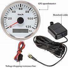 Flameer Waterproof LCD Motorcycle Speedometer Odometer RPM Speed Fuel Gauge 199 Kph Mph for Honda CBR250R CBR 250