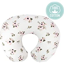 Fits Most Boppy Pillows Spring Colors Org Store Premium Nursing Pillow Cover Slipcover for Breastfeeding Pillows