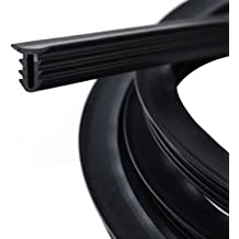 Bang4buck Rubber 1.6m Soundproof Dustproof Sealing Strip for Auto Car Dashboard Windshield