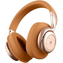 b51b7f611f6 BÖHM Wireless Bluetooth Over Ear Cushioned Headphones with Active Noise  Cancelling - B76 (Tan)