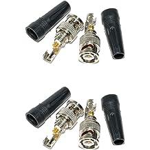 AEcreative 2-Way Antenna Signal Splitter for Uniden RadioShack Icom Alinco AOR Scanner shortwave Radio RTL-SDR Receiver BNC SMA