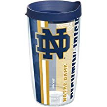 Green The Fanatic Group Notre Dame Double Walled Soft Touch Tumbler Design-1