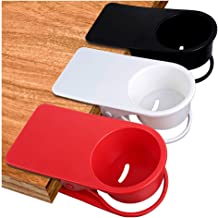 A Storage Bin and Phone Holder for Car Drinking Glass and Water Bottle Aristu Cup Holder for Desk Secure Portable Holder for Green Tea and Coffee Cup Attachable to Your Home Office. Red
