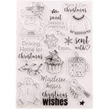 ZHENXI Plastic Embossing Folder Template DIY Scrapbook Photo Album Card Making Decoration Crafts Happy Birthday