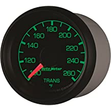 100-250 Degree F, 52.4mm Auto Meter 2039 Prestige Pearl 2-1//16 Electric Water Temperature Gauge