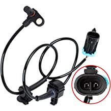 uxcell 15229012 Front Right or Left Side ABS Wheel Speed Sensor for 07-13 Chevrolet