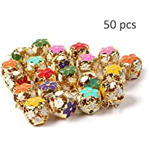 Baker Ross Gold and Silver Jingle Bells /— Creative Christmas Art and Craft Supplies for Kids Projects and Decoration Pack of 150