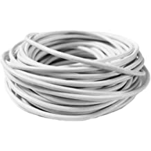10.93 Yards 10 Meters cords craft 1.0mm Genuine Round Leather Cord Leather String Jewelry Making Bracelet Necklace Beading