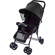 Universal Stroller Sun Shade Cover Large Shade Maker Sun Shade Canopy UV Protection Rays Cover,Anti-UV Windproof Awning Sunshade for Stroller Pram Buggy Pushchair