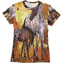 YONG-SHOP ZOSO Womens T Shirt Casual Cotton Short Sleeve V-Neck Graphic T-Shirt Tops Tees