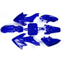 4Orange+3White TDPRO Complete Fender Body Plastic Fairing Kit for Apollo Orion 110cc 125cc 150cc Pit Dirt Bike