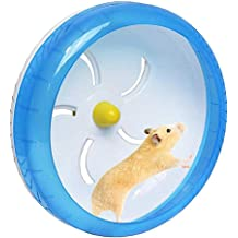 Xeminor 1PCS Transparent Hamster Running Ball Rack Sport Training Wheel Pet Exercise Supplies for for Small Animal Running Jogging Blue Superior/â/€/'Quality and Creative