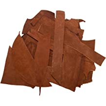 :: Sangria Hide /& Drink 8 Ounce Trimming Thick Pieces 3.5mm Cow Leather Chips /& Scraps Craft /& Workshop