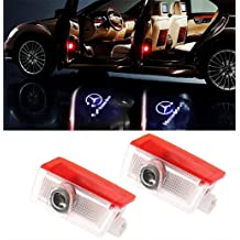 Moderncar 2x New Car Door led Welcome HD Projector Laser Logo Decoration shadow lightFor Mercedes benz A W166.W164 X164 ,C63 E B W205 For Mercedes W246 C M GL W212,W213 W176 GLA GLC GLE GLS