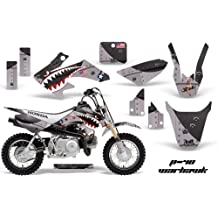 NorthStar Pink AMR Racing MX Dirt Bike Graphic Kit Sticker Decals Compatible with Honda CRF50 2004-2013