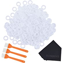 Lots 120PCS White Rubber O-Ring Dampers Keycap Mechanical Keyboard for Cherry MX TM Barhunkft