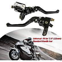 RMZ450 05-18 Dirt Bike Black JFG RACING Billet Pivot Foldable Clutch Brake Lever For Suzuki RMZ250 04 07-18
