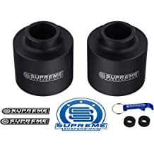 Supreme Suspensions Includes 16.25 Round Bend U-Bolts for Overload Models with 4 Axle 2 Rear Lift for 2003-2012 Dodge Ram 2500 3500 4WD Full 3 Front