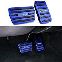 YIWANG Stainless Steel Pedals Automatic Brake Pedal Accelerator for BMW X1 F48 X2 F47 1 Serise F21 2 Series F45 F46 F21 2nd Gen 1-Series Three Doors Pedal Set