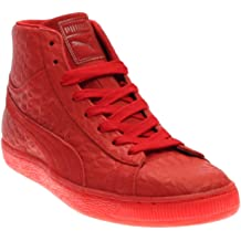 YCFTA Bright Red Pomegranate Women Casual Sneakers Shoes Boat Classic Nursing Designer