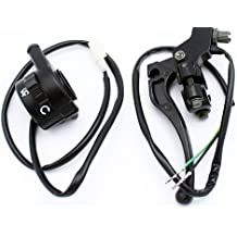 QAZAKY Throttle Housing Start Kill Switch Control Assembly for Yamaha PW80 PY80 Peewee Y-Zinger Dirt Bike