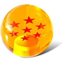 2 Star Top10 Racing Dragon Ball Z Star Manual Stick Shift Knob with Adapter Fits Most Cars 1-7 Stars 54MM
