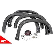 Rough Country Pocket Fender Flares Compatible w// 2007-2013 Chevy Silverado 1500 5.8 FT Bed F-C10715