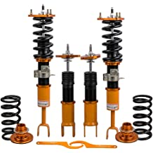 Coilover TBVECHI Coilover Absorbers Spring Shock Suspension Kit Coil Springs Coilover Kit Fit for 1996-2000 Honda Civic 1.6L
