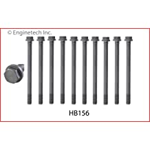 Compatible with 1994-2003 Ford Diesel 7.3L 445 OHV V8 Turbo Powerstroke 2 Sets REQ ENGINETECH HB207 Head Bolt Set