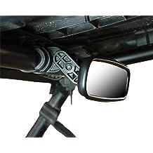 Raven Black World GP 50th Anniversary YZF R6 Alpha Rider CNC Aluminum 7//8 22mm Handle Bar End Rear View Side Mirrors for Yamaha YZF R1 Raven Team Team