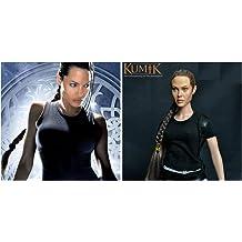 KUMIK 13-54 Angelina Jolie Lara Croft 1//6 Head Sculpt for 12 Inch Hot Toys Body
