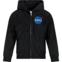 BSW Youth Girls Space is Awesome Planets Comets Rockets Sketch Zip Hoodie