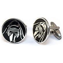 Star Wars Tie Clip Darth Vader Cuff Links Kylo Stormtrooper Death Star Gift Jedi Tie Tack Jewelry SharedImagination R2D2 Cufflinks Star Wars C3PO Wedding Party Groomsman Gifts Star Wars Cufflinks