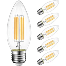 6 Piece MiracleLED 604417 Almost Free Energy Crystal Clear LED Light for High Definition