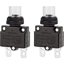 DIYhz 12Amp Circuit Breakers Thermal Overload Switch Protector 88 Series