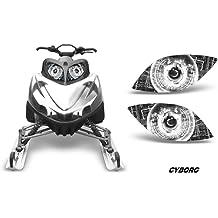 Spliced AMR Racing UTV Headlight Eye Graphic Decal Cover for Kawasaki Teryx 10-14