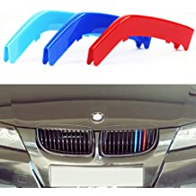 Astra Depot Glossy Black M-Color Painted Front Kidney Grille Grill Compatible with 1997-1999 BMW E36 3-Series Facelift