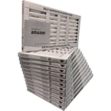 Pack of 6 Mechanical MERV 8 11.38 Height 3.75 Thick 23.38 Width Sterling Seal KP-5251572544 Purolator Key Pleat Extended Surface Pleated Air Filter 11.38 Height 3.75 Thick 23.38 Width Pack of 6