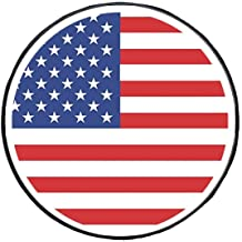 17 inch for Tire /Φ 31-33 HEALiNK Spare Tire Cover,PVC Leather Waterproof Dust-Proof American Flag Rv Wheel Covers for Jeep Liberty Wrangler SUV Camper Travel Trailer Accessories