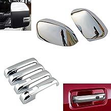 4 Doors EZ Motoring Chrome Door Handle Covers for 2011-2015 Chevrolet Chevy Cruze